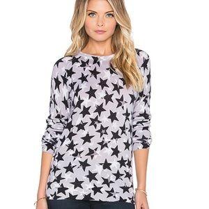 Equipment Sloane Cashmere Star Overlay Sweater